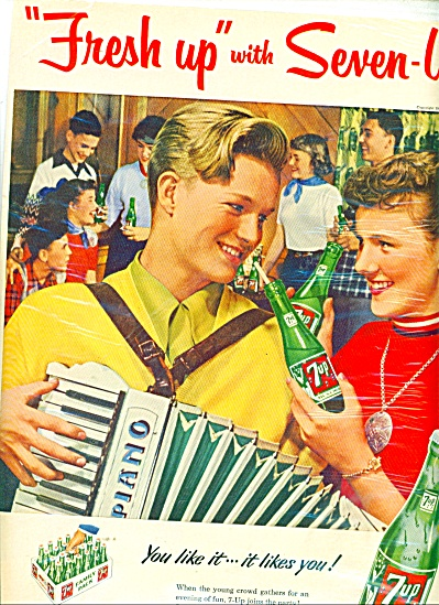 7 Up drinks ad 1953 (Image1)