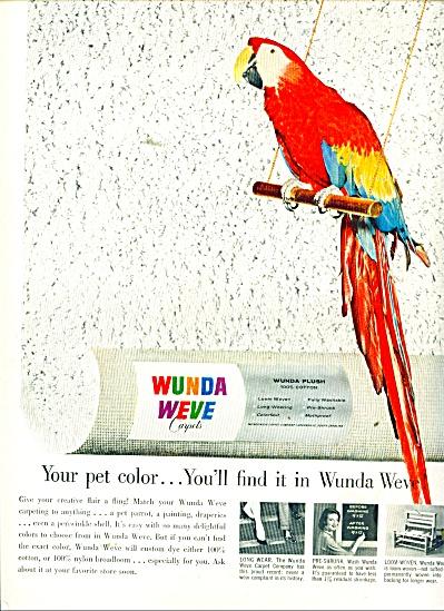 Wunda Weve carpets ad 1957 (Image1)
