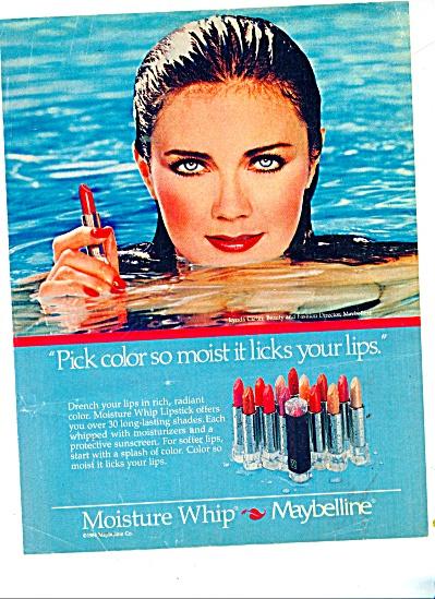 Maybelline - LYNDA CARTER - ad 1985 (Image1)