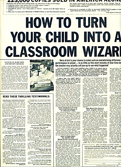 How to turn your child into a classromm wizar (Image1)