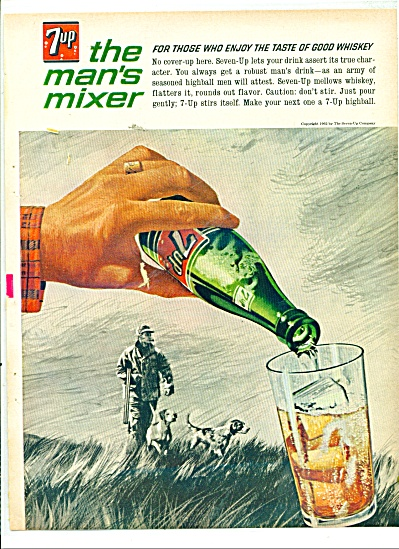7 up the man's mixer ad 1963 (Image1)