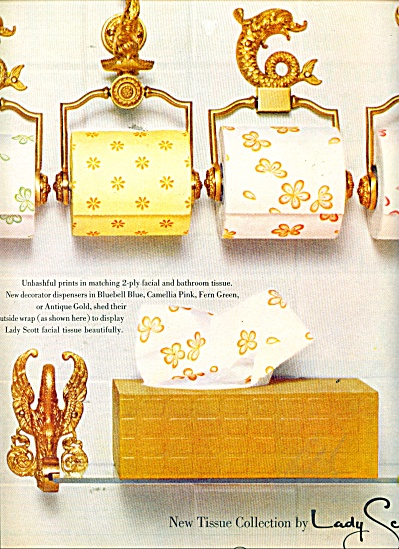 Lady Scott new tissue collection ad 1966 (Image1)