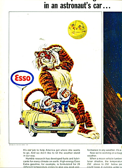 Humble research oil - Esso ads  1966 (Image1)