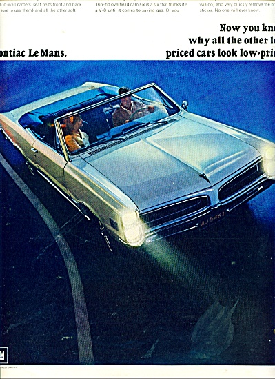 Pontiac LeMans ad (Image1)