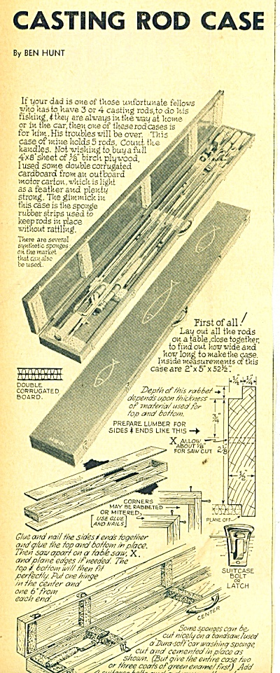 Casting Rod Case to be built ad 1961 (Image1)