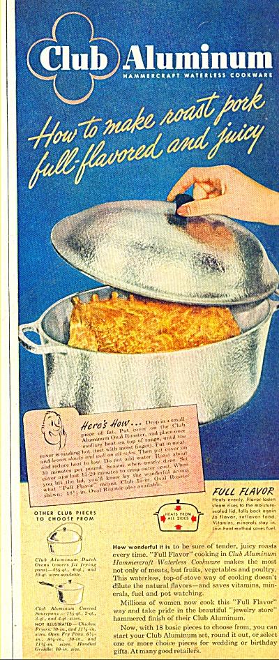 Club Aluminum hammercraft waterless cookware (Image1)
