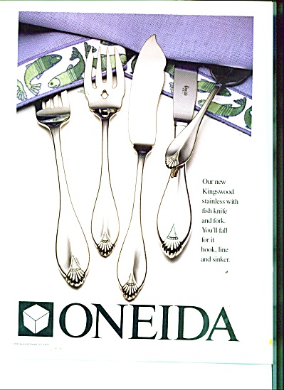 Oneida silverware ad (Image1)