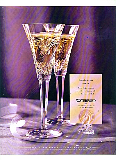 Waterford crystal ad 1999 (Image1)