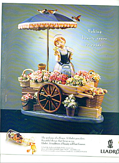 Lladro porcelain ad 1999 (Image1)