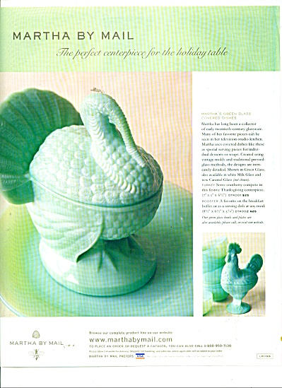 Martha by Mail centerpiece ad 1999 (Image1)