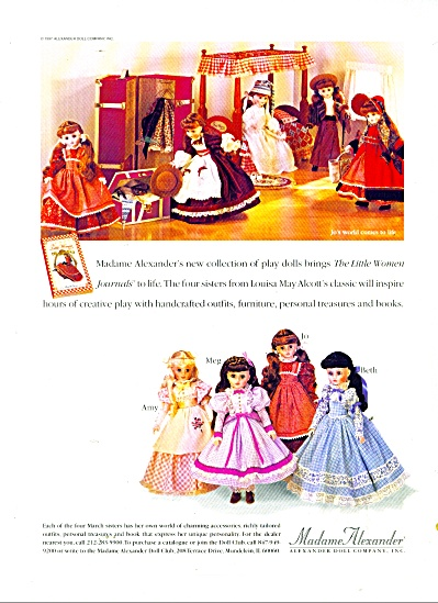 1979 Madame Alexander Little Women DOLL AD (Image1)