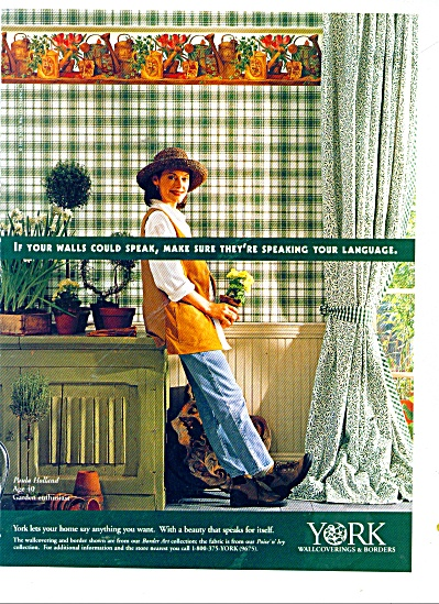 York wallcoverings & borders ad 1997 (Image1)