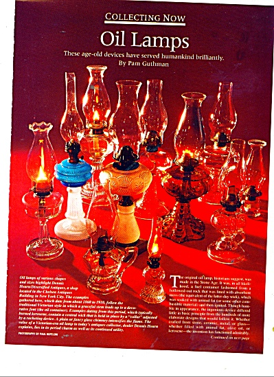 Vntage Oil Lamps ad page by Pam Guthman (Image1)