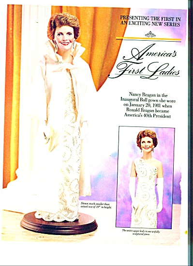 America's First Ladies - Nancy Reagan Ad