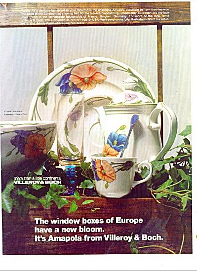 Villeroy & Boch ad 1987 (Image1)
