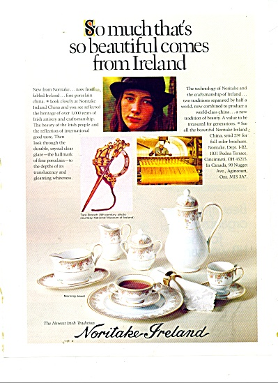 Noritake Ireland ad Morning Jewel Pattern (Image1)