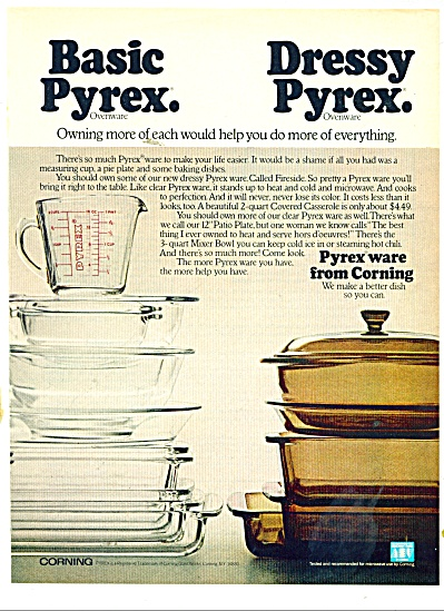 Pyrexware from Corning ad 1978 (Image1)