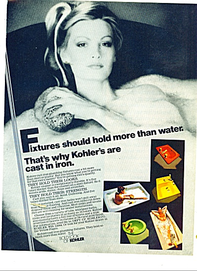 The bold look of kohler ad 1979 (Image1)