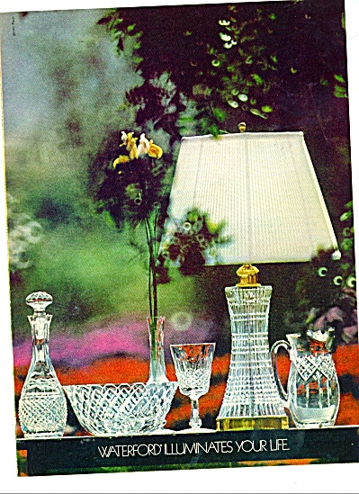 Waterford crystal ad 1977 Illuminates (Image1)
