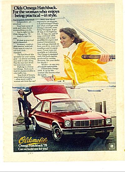 Oldsmobile Omega hatchback  1978 ad (Image1)