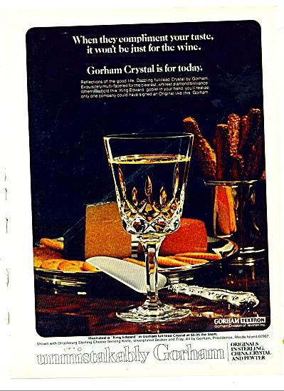 1978 GORHAM AD TEXTRAM (Image1)