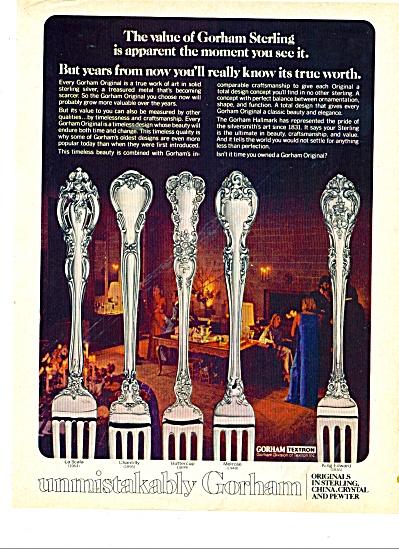 Gorham sterling ad 1977 (Image1)