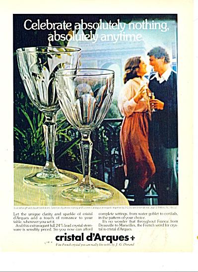 Cristal d'Arques ad 1977 (Image1)