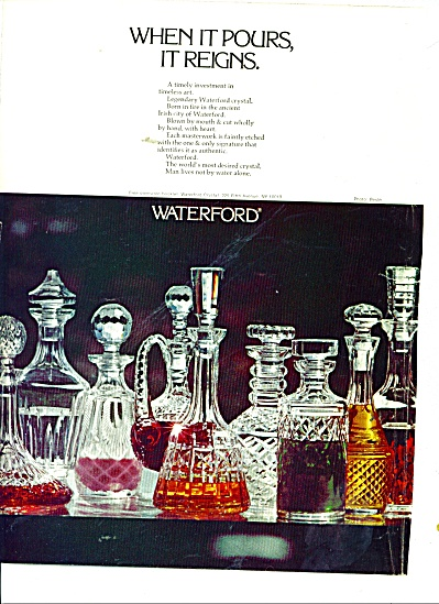 Waterford crystal ad (Image1)