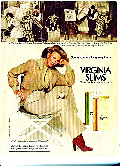 1978 Virginia Slims AD ROSIE VELA Model (Image1)