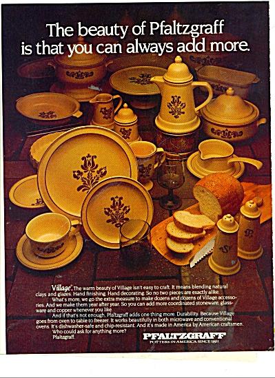 Pfaltzgraff Potters VILLAGE Dinnerware AD1979 (Image1)