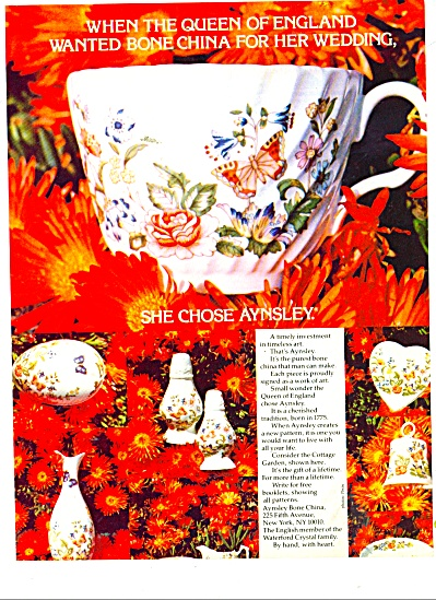 Aynsley bone china 1978 (Image1)