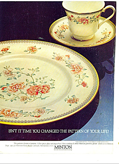 Minton - Royal Doulton Group Ad 1978