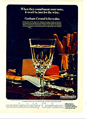 1977 GORHAM AD  PEWTER CHINA (Image1)