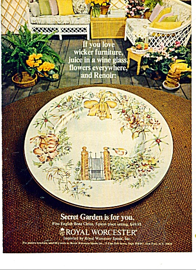 Royal Worcester ad 1977 (Image1)