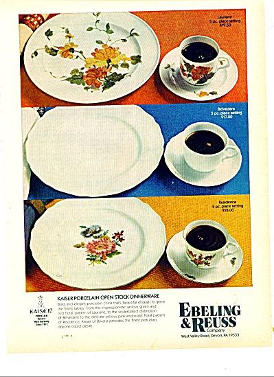 Ebeling & Reuss Company porcelain ad 1977 (Image1)