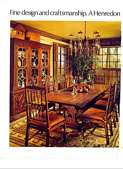 Henredon furniture ad 198 (Image1)