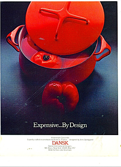 Dansk International designs ad 1978 (Image1)