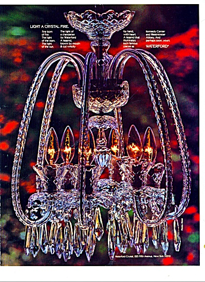 Waterford crystal ad 1981 (Image1)