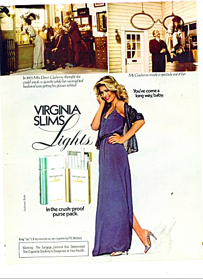 1981 Virginia slims  cigarettes AD (Image1)