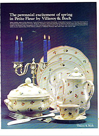Villeroy & Boch ad 1981 (Image1)