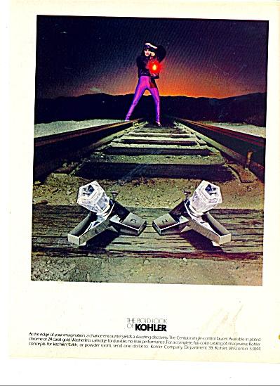 The bold look of Kohler ad 1979 CENTURA (Image1)