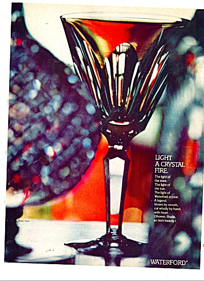 Waterford Crystal ad 1980 (Image1)