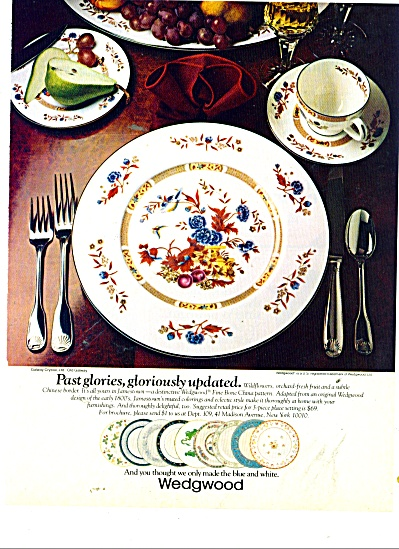 Wedgwood - Galway crystal ad 1980 (Image1)
