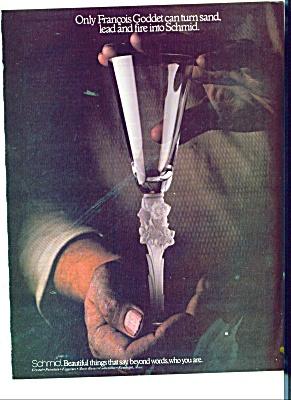Schmid - Francois Godder Crystal GLASS ad (Image1)