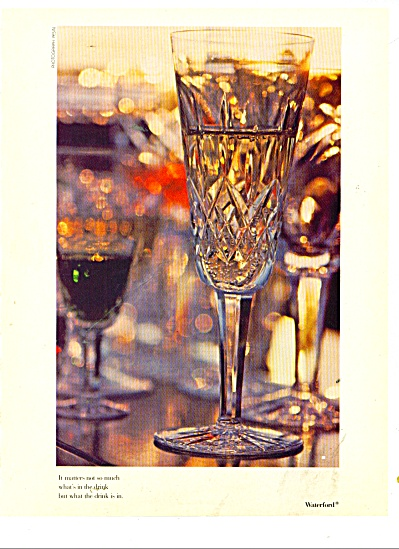 Waterford glass ad 1979 (Image1)