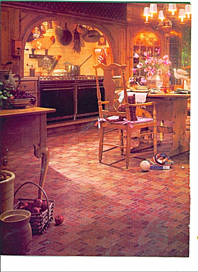 1986 Armstrong Solarian Floor Ad Country