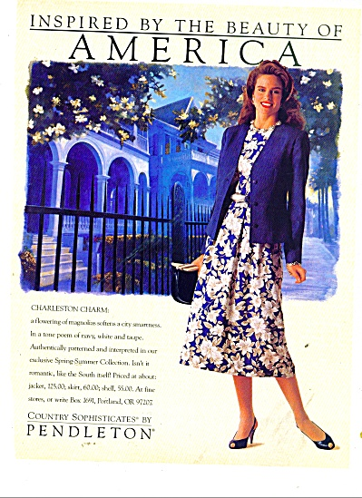 Pendleton country sophisticates ad (Image1)