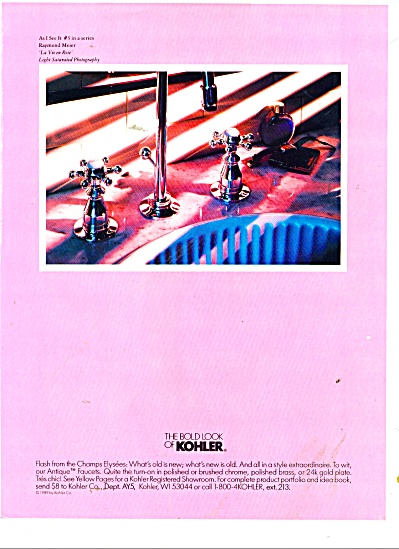 The bold look of Kohler - 1986 (Image1)