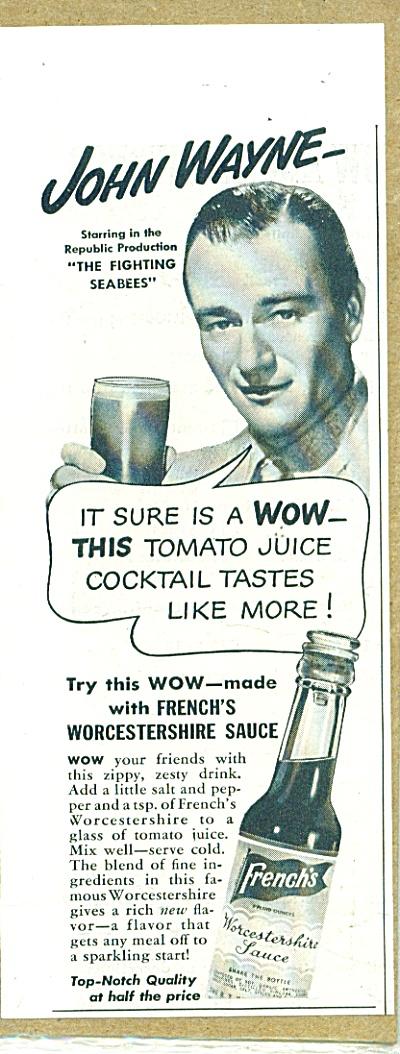 1944 Frenchs Worcestershire AD  JOHN WAYNE (Image1)