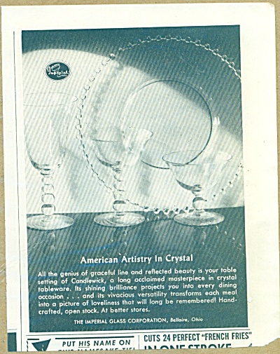 The Imperial glass Corporation crystal ad (Image1)